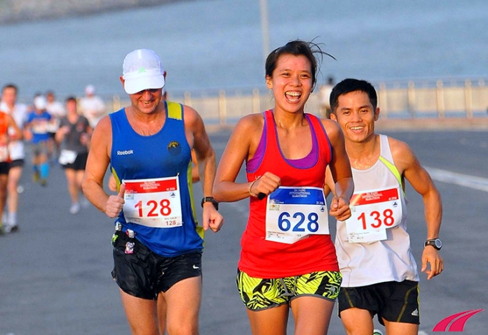 Giải chạy Đà Nẵng marathon 2013