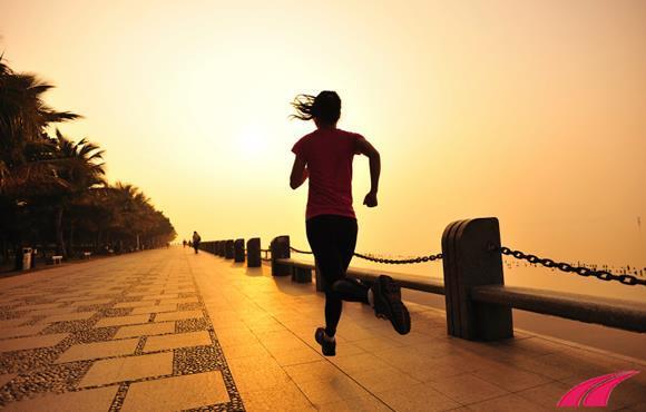 Chạy dưới trời nắng