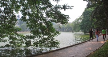 Địa điểm chạy bộ ở Hà nội - Hồ gươm