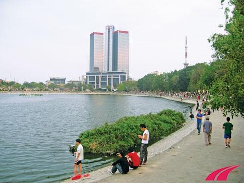 Địa điểm chạy bộ ở Hà nội - Hồ thành công