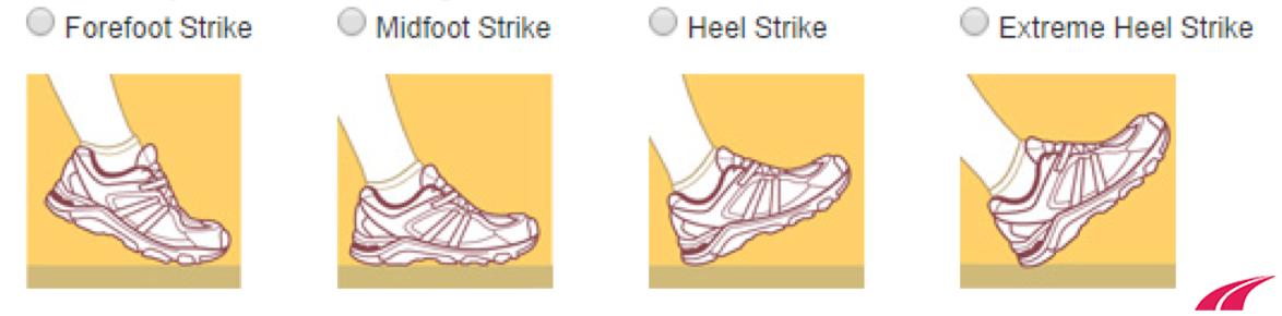 Cách đáp chân khi chạy bộ