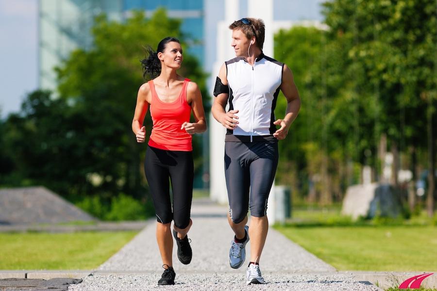 Chạy bộ ở mức aerobic