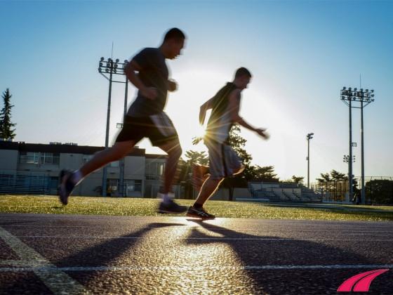 Thở khi chạy bộ