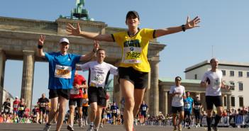 Giai chay bo Berlin marathon