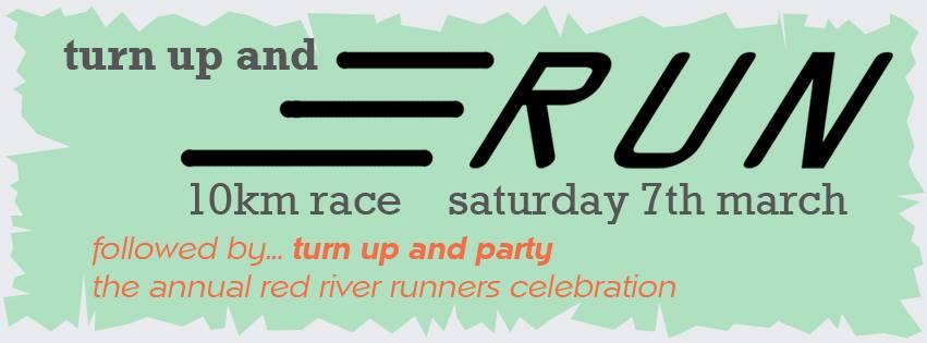 Turn up and run 2015