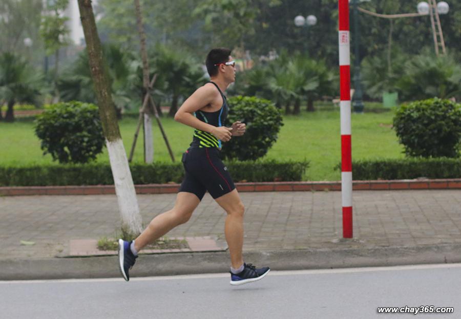 Chạy 20 km, pace 4.55