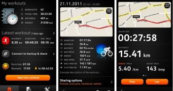 Sports Tracker (bản miễn phí) chỉ có tính năng cơ bản nhưng hỗ trợ nhiều dòng máy điện thoại, kể cả cấu hình thấp