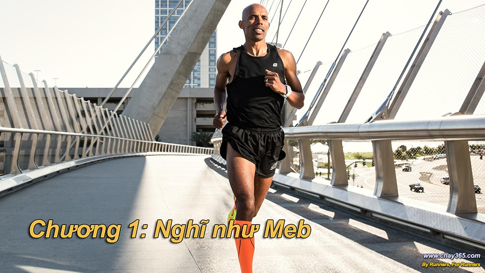 Keflezighi, at 5 feet 5 inches and 123 pounds, is the definition of commitment—only taking easy 10-mile-run days if he needs to.