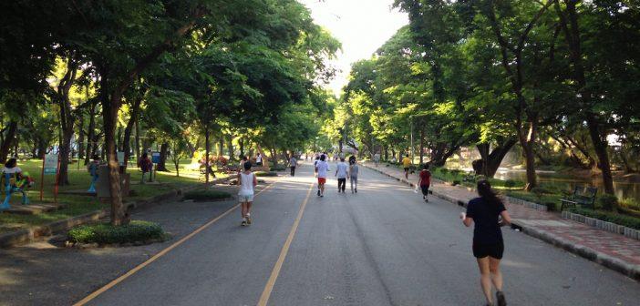 Chạy bộ ở Bangkok