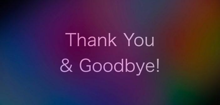 Lời tạm biệt