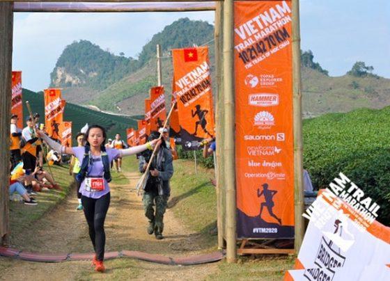 Tiểu Đường vô địch 70km nữ. Ảnh: VTM