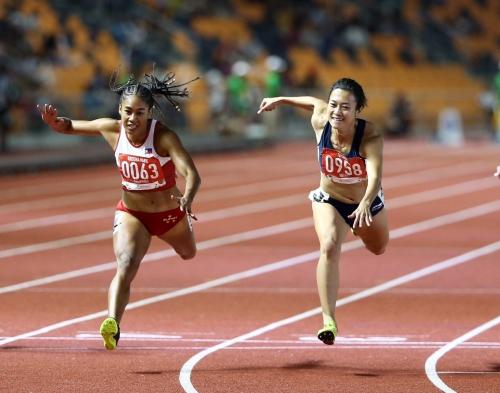 Tú Chinh giành HCV 100m SEA Games 2019