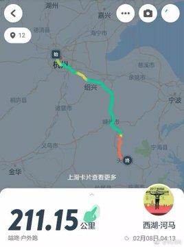 Tracklog chạy 211km về quê ăn Tết