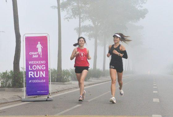 Mỗi lần chạy là một lần vui. Ảnh: Triệu Việt Linh
