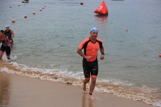 Marcel Lennartz ở giải Challenge Vietnam (Nha Trang). Ảnh: NVCC