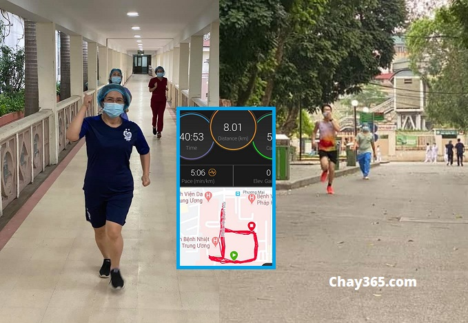 Bác sỹ chạy bộ