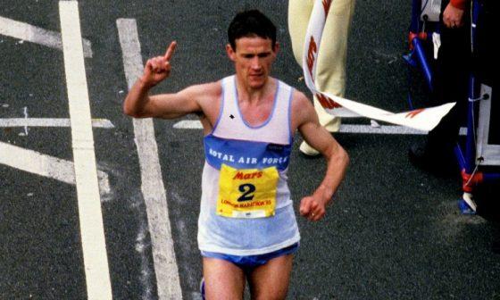 Steve Jones về nhất London Marathon 1985