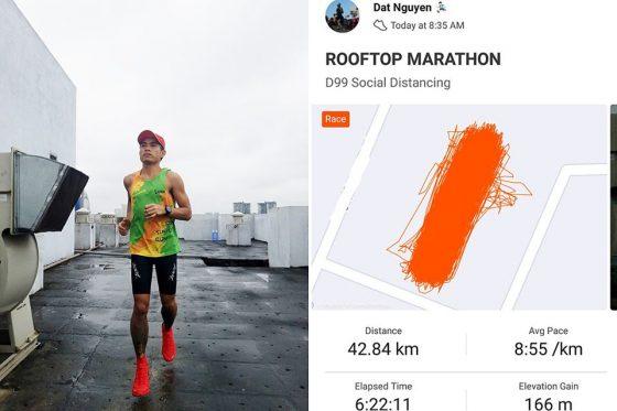 marathon trên nóc nhà