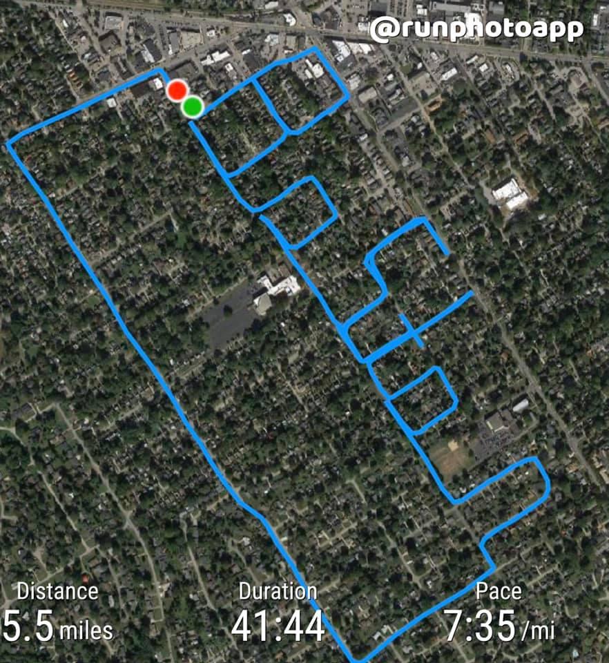 Chạy vẽ chữ Boston