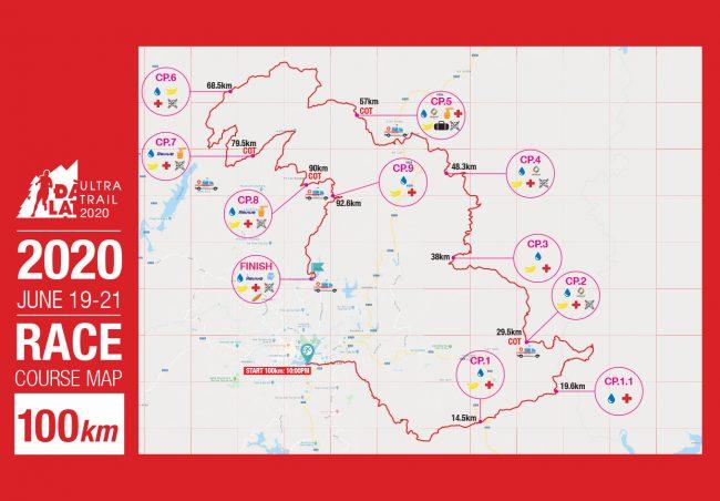 DLUT 2020 course map
