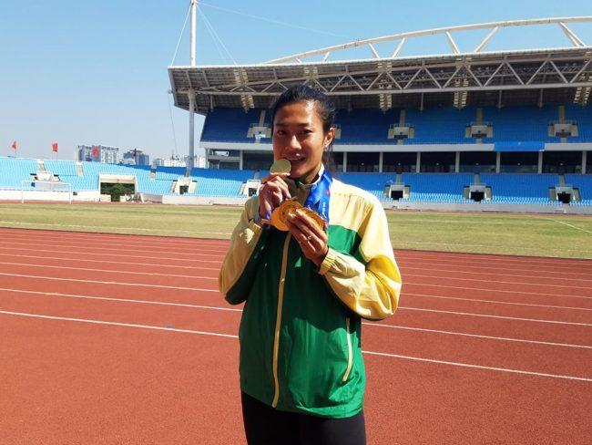 Tú Chinh giành trọn bộ 5 HCV ở giải VĐQG điền kinh