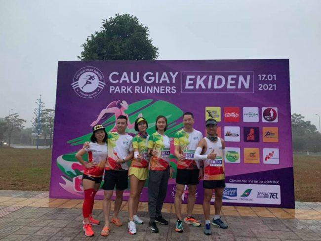 Cau Giay Park Runners Ekiden