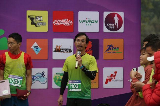 Chủ tịch CLB Cầu Giấy Park Runners