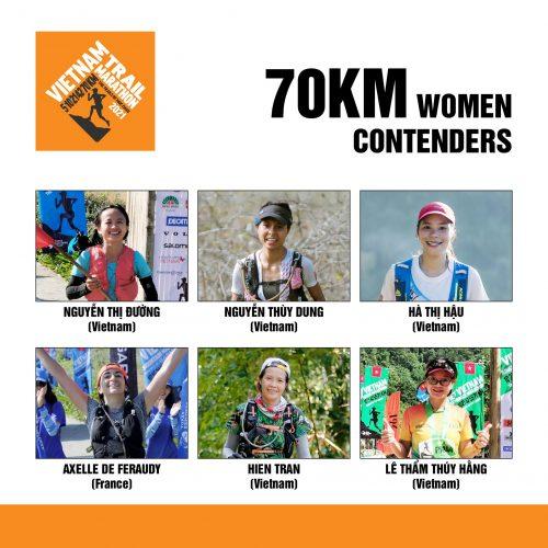 ƯCV vô địch 70km nữ. Ảnh: BTC