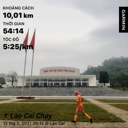 """Runner Lào Cai không thể """"nào cai"""" chạy ngày Tết"""