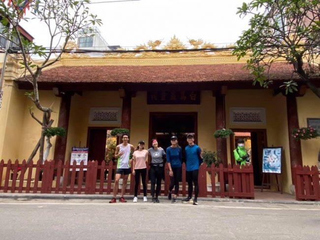 Chạy quanh Tứ trấn Thăng Long