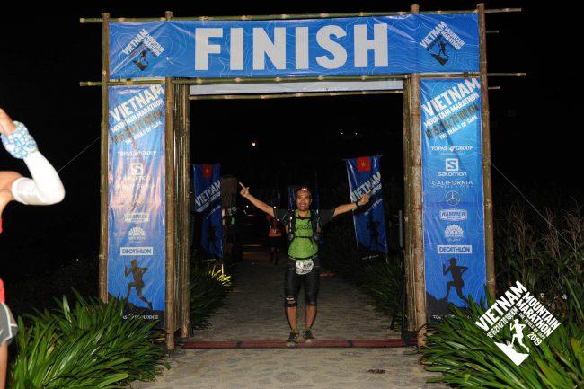 Tác giả Phạm Trung Linh, triathlete, ultra runner từng hoàn thành 100km VMM