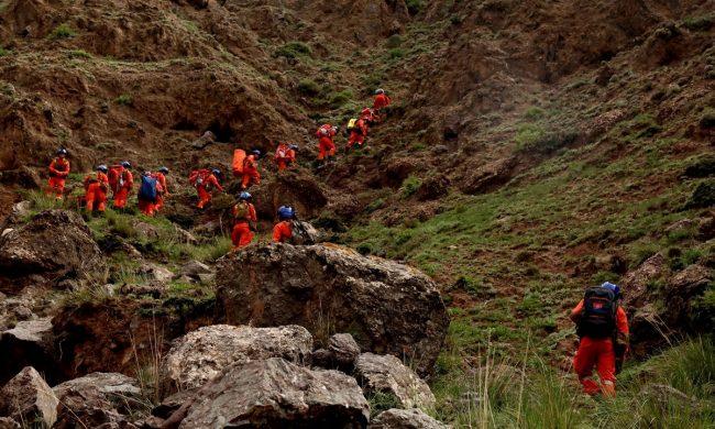Đội cứu hội leo núi đi tìm