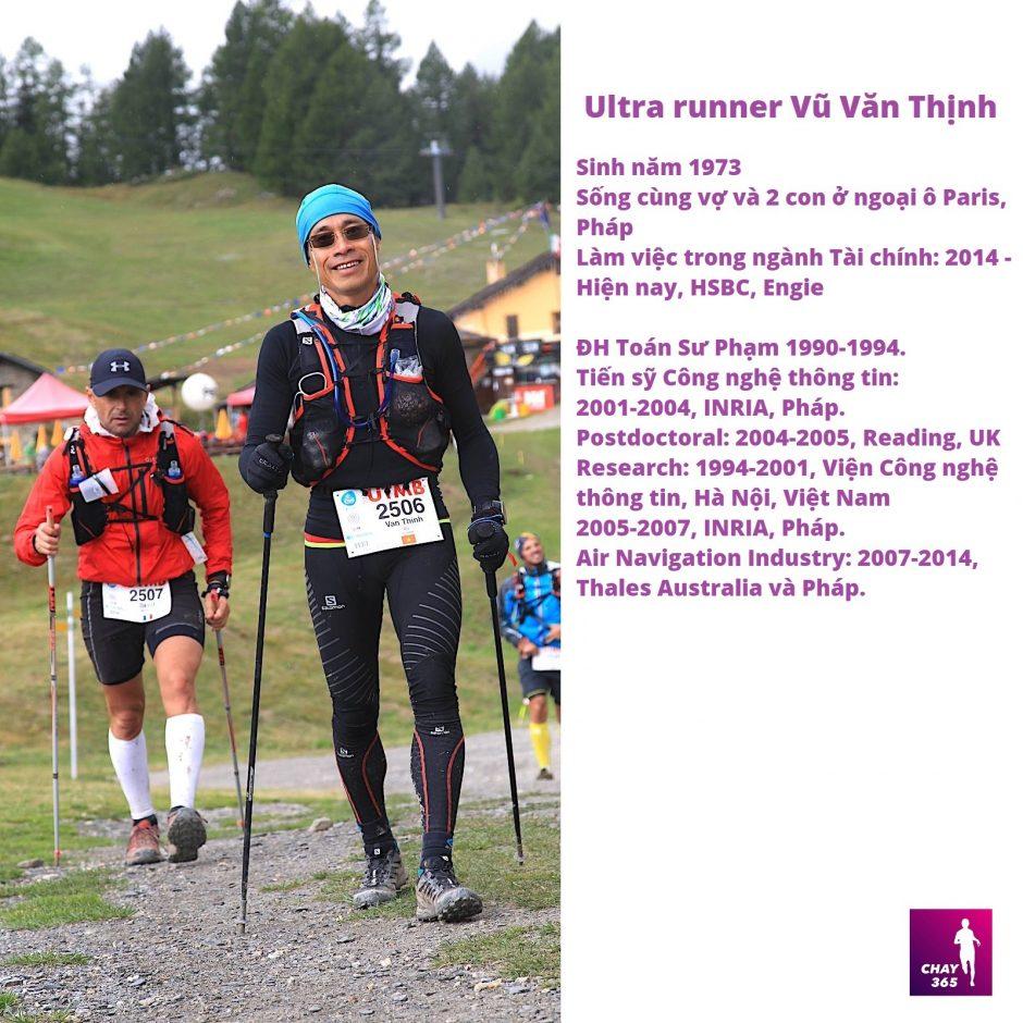 Ultra runner Vũ Văn Thịnh